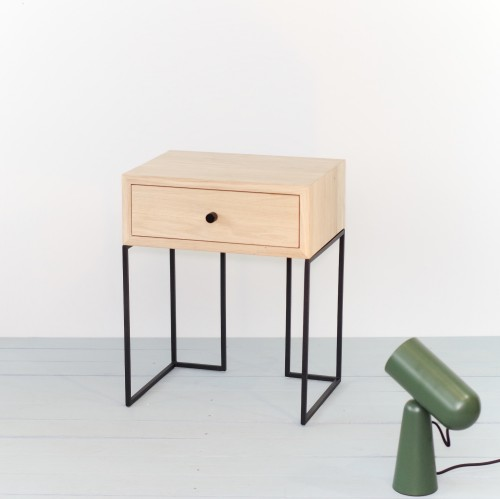 NORD-ID-02 NORDIC-L side table industrial