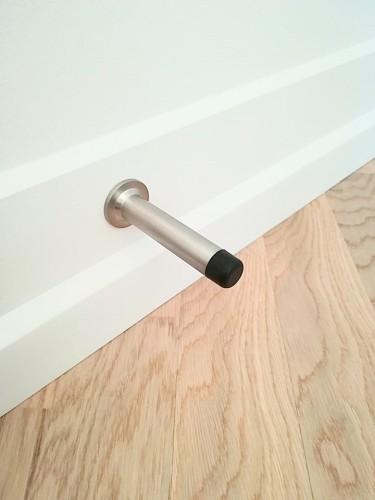 Door stop/wall  3180-80-83180   Stainless Steel