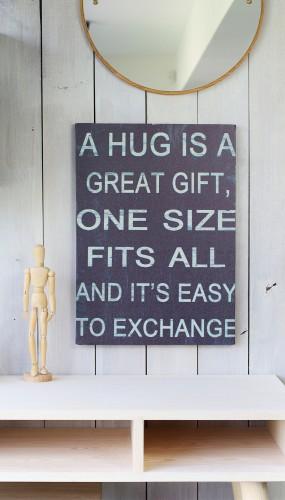 """HUG"" words / phrase"