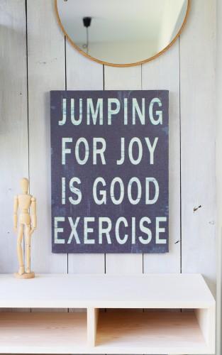 """JUMP"" words / phrase"