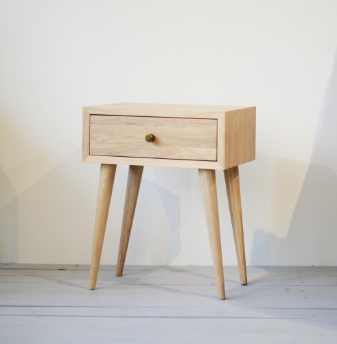 NORD side table 02 white oiled oak  (NO-02-EH)