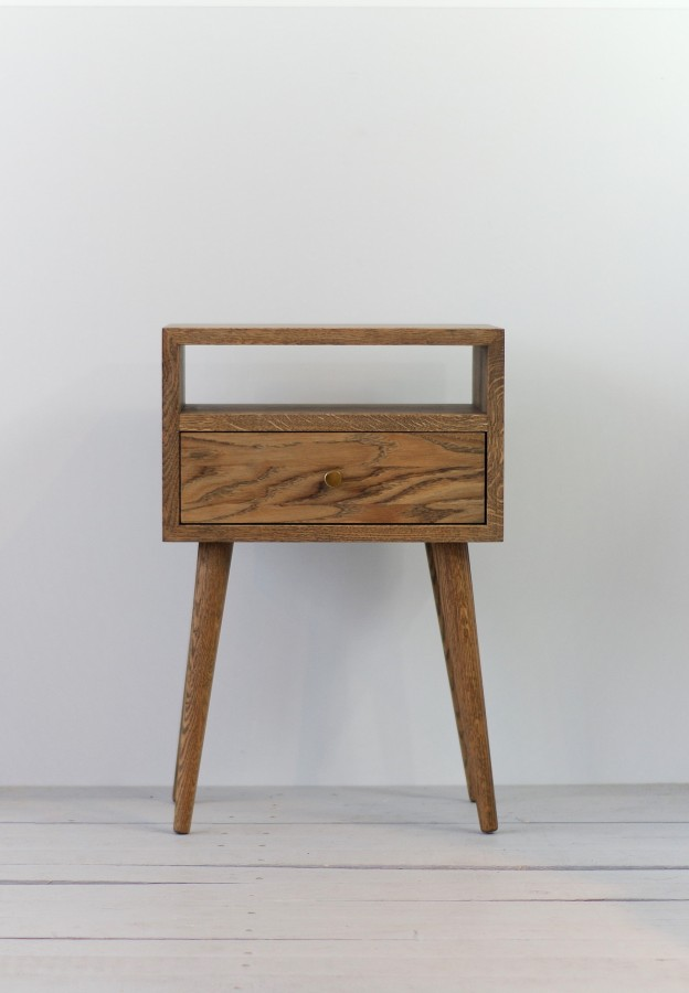 NORD side table 03 smoked oak (NO-03-ES)
