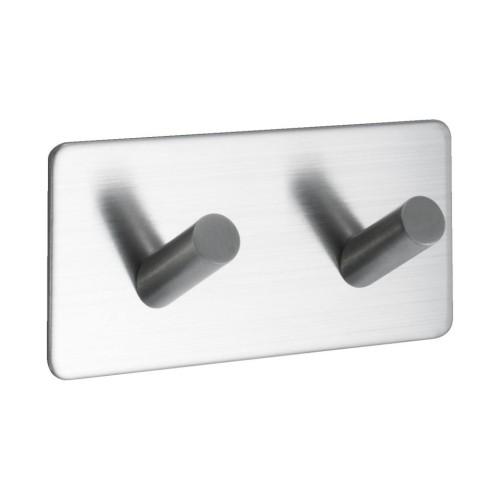 Hook BASE 200 -2-hook - 60509  matt chrome