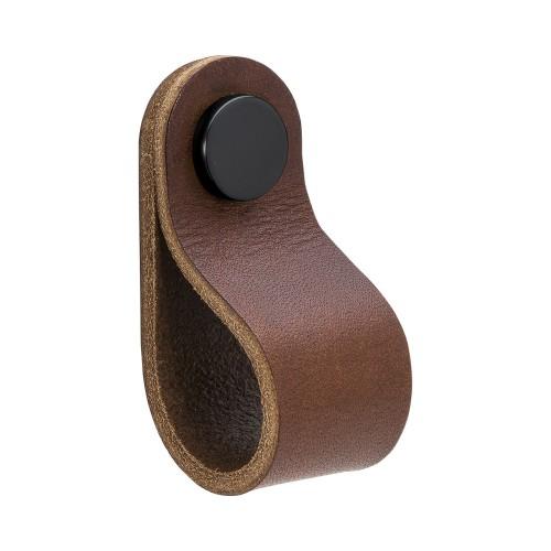 Handle LOOP Round-333234-11 leather brown (333224-11)