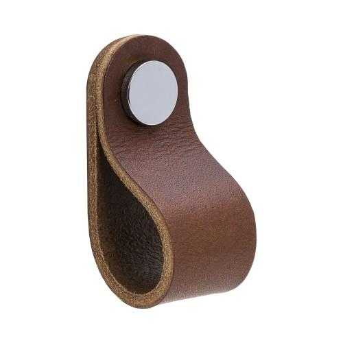 Handle LOOP Round-333233-11 leather brown