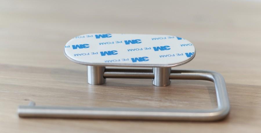 Tol.Paper holder  BASE 100  60602  matt chrome