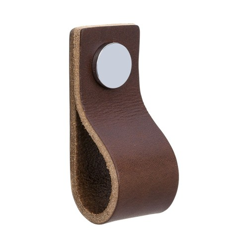 Handle LOOP 333133-11 leather brown