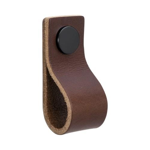 Handle LOOP 333134-11 leather brown