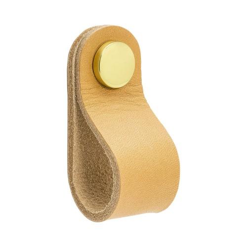 Handle LOOP Round-333241-11 leather light