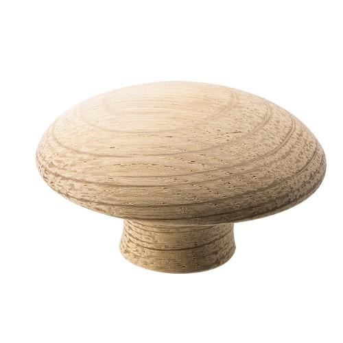 Handle Mushroom 255620-11 oak untreated