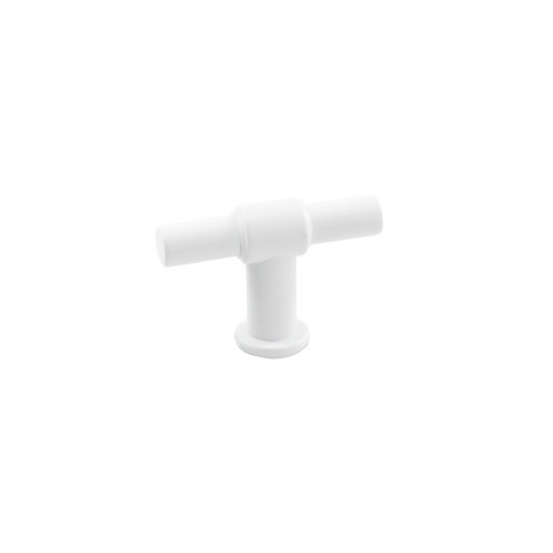 Knob T-type 343292-11 mat. white