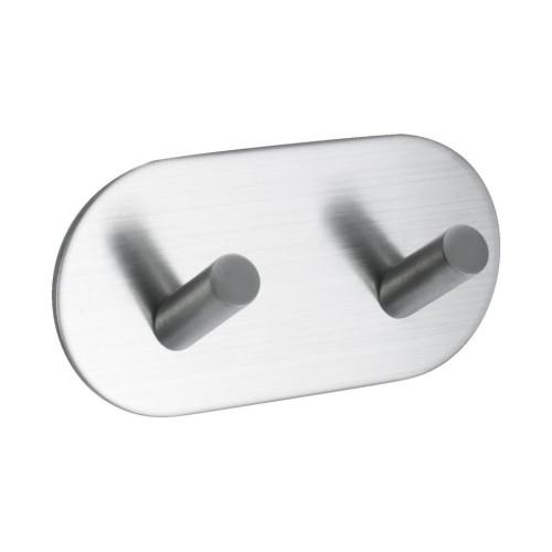 Hook BASE 100 -2-hook - 60507  matt chrome