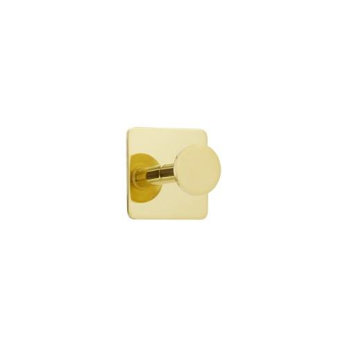 Hook BASE 210 -1-hook - 61403  brass