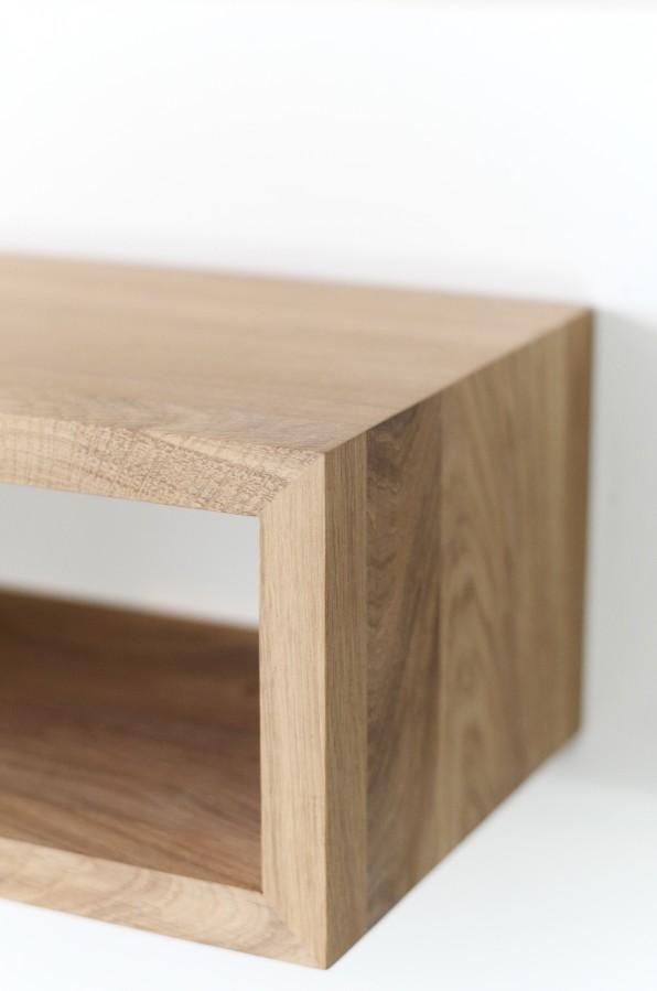 NORD 05 wall shelf- natural oak